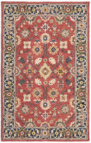 Blue Area Newcastle Home Asher Vintage Bohemian Red and Rug, 5'x8'