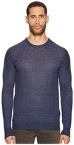 Belstaff Nevenden Linen Blend Pullover Men's Sweater