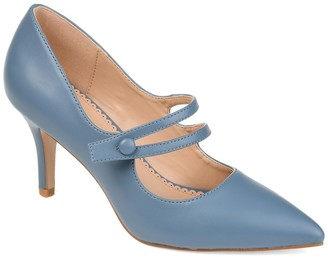 Journee Collection Sidney Pointed Mary Jane Pump