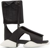 Rick Owens Black & White Cargo Sandals