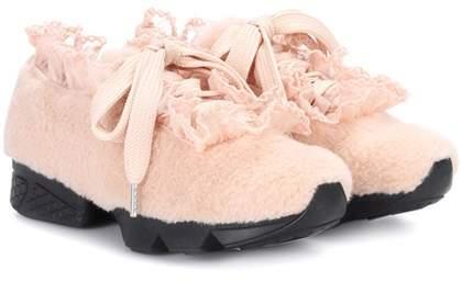 Ganni X Shrimps Fergus Seashell sneakers