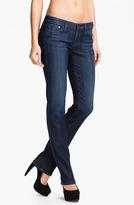 AG Jeans Straight Leg Stretch Denim Jeans (Savannah)