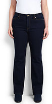 Classic Women's Plus Size Mid Rise Bootleg Jeans-Heritage Indigo Wash