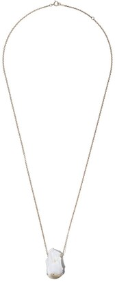 Mizuki 14kt yellow gold Fluid Gold Pearl necklace