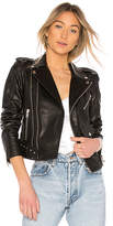 Palmer Girls x Miss Sixty Leather Motorcycle Jacket