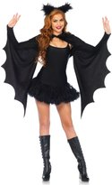 Leg Avenue Women's Cozy Bat Shrug and Headband
