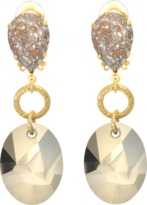 Aris Geldis Terracota clips earrings