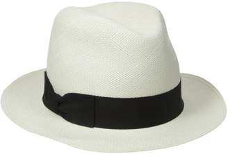 Hat Attack Women's The Original Panama Hat with Classic Bow Ribbon Trim