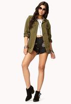 Forever 21 Tough-Girl Utility Jacket