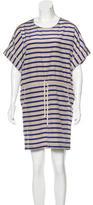 Sea Striped Shift Dress