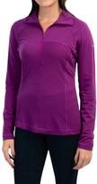 Columbia Layer First Shirt - UPF 15, Neck Zip, Long Sleeve (For Women)