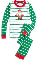 Hanna Andersson Peanuts ® Holiday Organic Cotton Fitted Two-Piece Pajamas