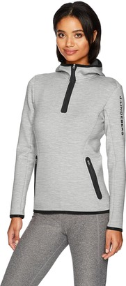 J. Lindeberg Women's W Logo Hood Jacket