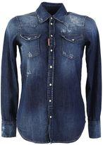 DSQUARED2 Blue Denim Shirt
