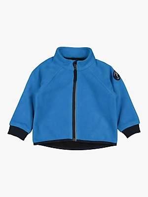 Polarn O. Pyret Baby Fleece Jacket, Blue