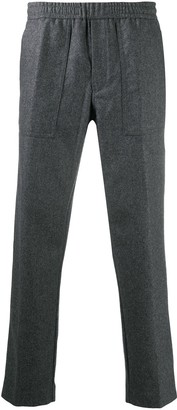 Moncler Straight-Leg Wool Trousers