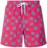 Aspesi flower print swim shorts