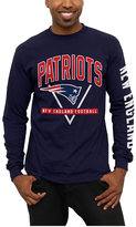 Junk Food Clothing Men's New England Patriots Nickel Formation Long Sleeve T-Shirt