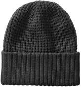Joe Fresh Men's Waffle Knit Hat, JF Black (Size O/S)