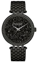 Bulova Women's Quartz Stainless Steel Casual Watch, Color:Black (Model: 45L147)
