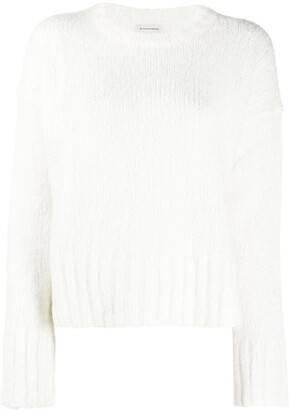 By Malene Birger Side-Slit Knitted Jumper