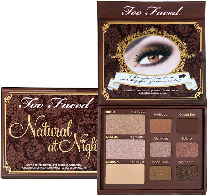 Too Faced Natural at Night Sexy and Sultry Neutral Eye Shadow Collection