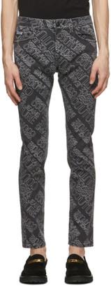 Versace Jeans Couture Black Logo Jeans