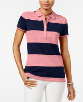 Tommy Hilfiger Rugby Striped Polo Top