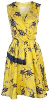 Altuzarra sleeveless deco print dress