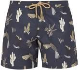 THORSUN Titan-fit Mexican Hawaiian-print swim shorts