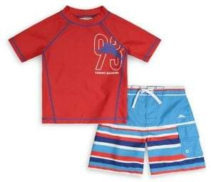 Tommy Bahama Boy's 2-Piece Logo Swim Set