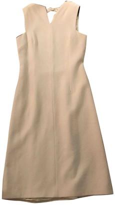 Bottega Veneta White Wool Dresses