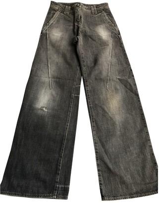 Sportmax Grey Cotton Jeans for Women
