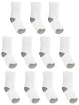 Circo Boys' Casual Socks 11 pk White