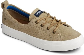 Sperry Crest Vibe Plush/Wave Pin Perforated Sneaker