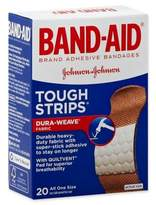 Johnson & Johnson Band-Aid® 20-Count Tough-Strips Adhesive Bandages
