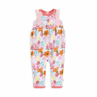 Burt's Bees Baby Baby Girls' Romper Jumpsuit 100% Organic Cotton One-Piece Coverall