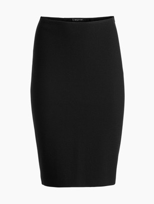 St. John Micro Boucle Knit Pencil Skirt
