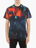Y-3 Distorted Print Cotton T-shirt