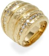 Rivka Friedman Women's CZ Dome Ring