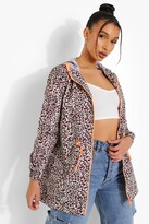 Thumbnail for your product : boohoo Leopard Print Mac