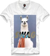 E1syndicate V-Neck T-Shirt Lama Swag Dope Llama Del Rey Lana Blogger Hipster Indie S/M/L/Xl