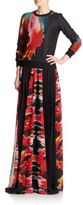 Roberto Cavalli Side-Slit Maxi Skirt