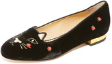 Charlotte Olympia Lucky Kitty Flats