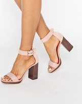 Ted Baker Lorno Suede Block Heeled Sandals