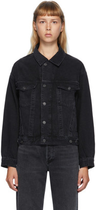 AGOLDE Black Denim Charli Jacket