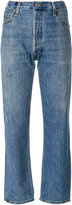 RE/DONE ultra high rise straight jeans