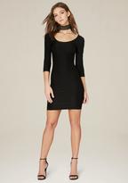 Bebe Textured Scoopneck Dress