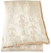 Dian Austin Couture Home Queen Le Creme Maison Damask Duvet Cover