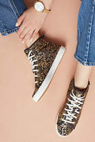Keds x Rifle Paper Co. Gold Print High-Top Sneakers